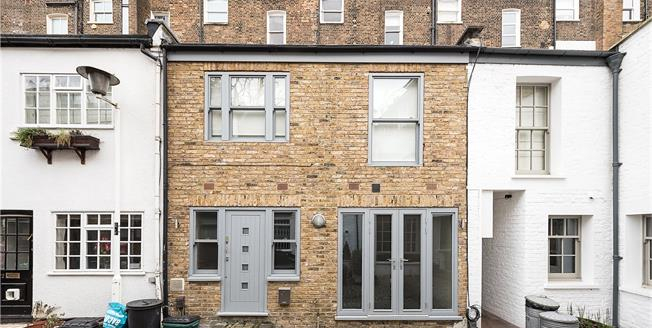 Asking Price £1,250,000, 2 Bedroom Terraced House For Sale in London, NW3