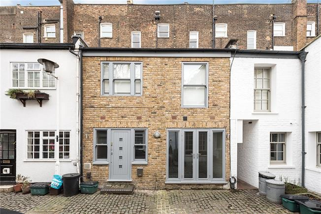 Asking Price £1,195,000, 2 Bedroom Terraced House For Sale in London, NW3