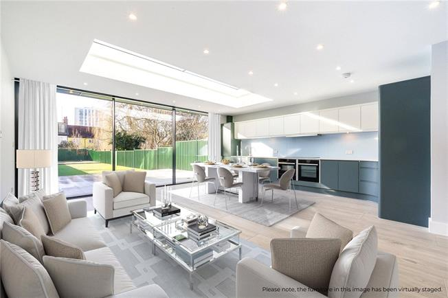 Asking Price £1,595,000, 5 Bedroom End of Terrace House For Sale in London, NW2