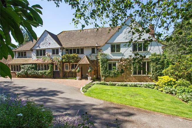 Guide Price £2,750,000, 5 Bedroom Detached House For Sale in Surrey, GU27