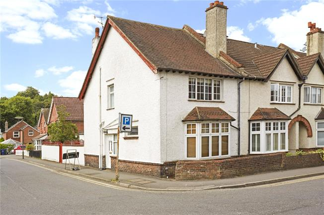 Asking Price £450,000, 3 Bedroom End of Terrace House For Sale in Haslemere, GU27
