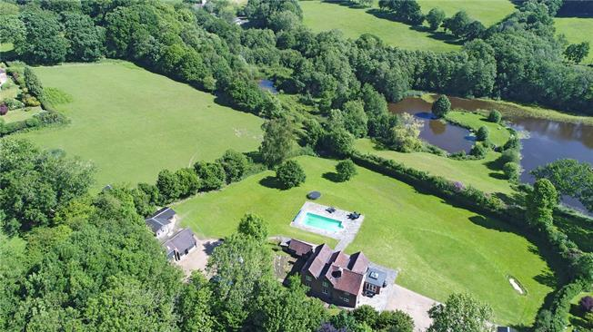 Guide Price £1,450,000, 6 Bedroom Detached House For Sale in East Sussex, TN22