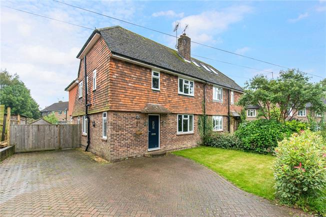 Offers in excess of £550,000, 4 Bedroom Semi Detached House For Sale in Ardingly, RH17