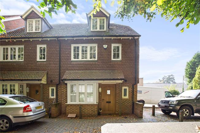 Guide Price £395,000, 3 Bedroom End of Terrace House For Sale in Handcross, RH17