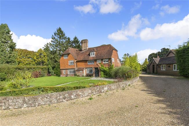 Guide Price £995,000, 6 Bedroom Detached House For Sale in Crawley Down, West Sussex, RH10