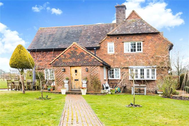 Guide Price £925,000, 4 Bedroom Semi Detached House For Sale in West Hoathly, RH19