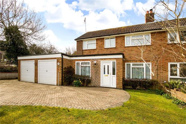 Guide Price £425,000, 3 Bedroom Semi Detached House For Sale in Haywards Heath, RH16