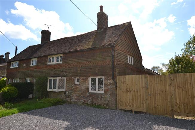 Guide Price £295,000, 2 Bedroom Semi Detached House For Sale in Ansty, RH17