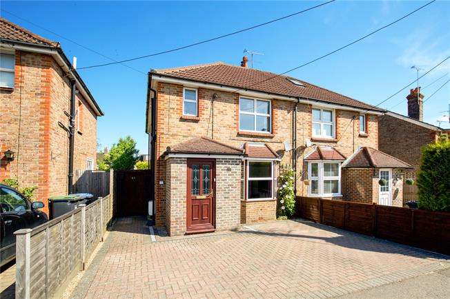 Guide Price £465,000, 3 Bedroom Semi Detached House For Sale in Haywards Heath, RH16