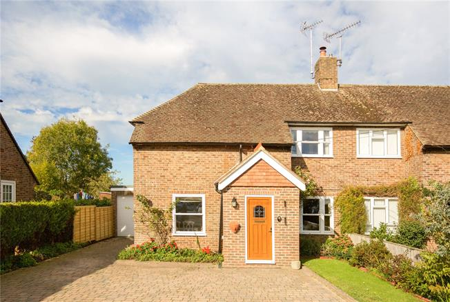 Guide Price £415,000, 3 Bedroom Semi Detached House For Sale in West Sussex, BN6