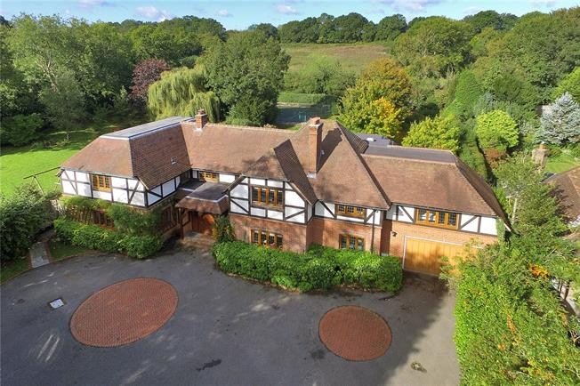 Price on Application, 5 Bedroom Detached House For Sale in Hassocks, East Sussex, BN6
