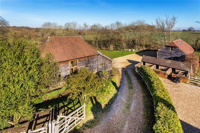Guide Price £1,250,000, 5 Bedroom Detached House For Sale in Cooksbridge, BN8