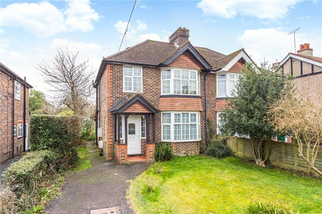 Guide Price £430,000, 3 Bedroom Semi Detached House For Sale in Haywards Heath, RH16