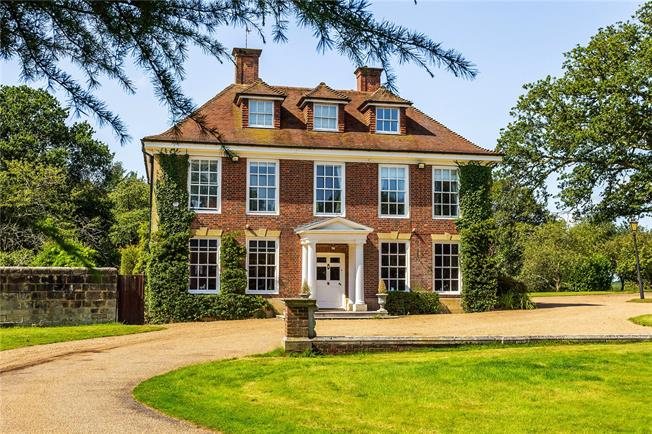 Guide Price £1,950,000, 6 Bedroom Detached House For Sale in Uckfield, TN22