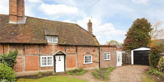 Guide Price £495,000, 2 Bedroom Semi Detached House For Sale in Henley-on-Thames, RG9