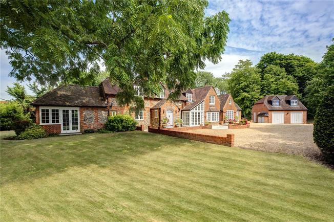 Offers in excess of £2,500,000, 6 Bedroom Detached House For Sale in North Stoke, OX10