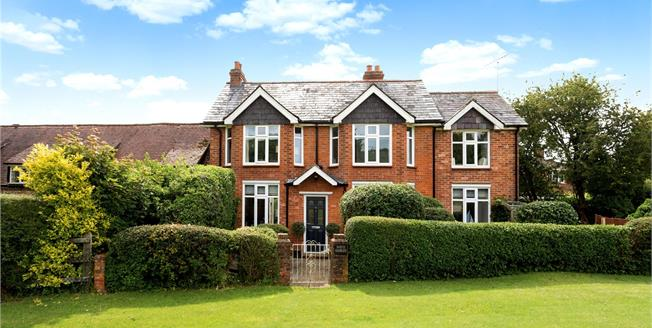 Guide Price £795,000, 4 Bedroom Semi Detached House For Sale in Buckinghamshire, RG9