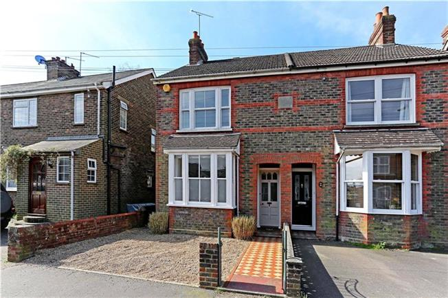 Guide Price £425,000, 3 Bedroom Semi Detached House For Sale in Horsham, RH13