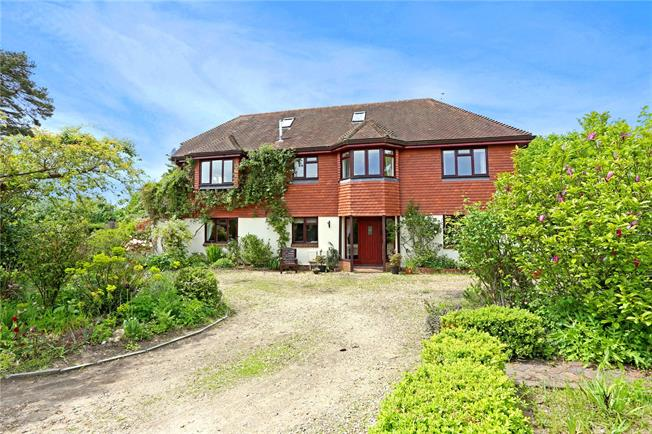 Guide Price £1,175,000, 4 Bedroom Detached House For Sale in Pulborough, West Sussex, RH20