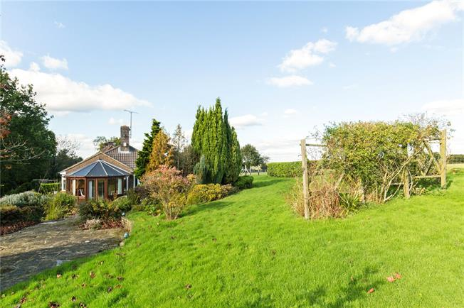 Guide Price £675,000, 4 Bedroom Bungalow For Sale in Plummers Plain, RH13