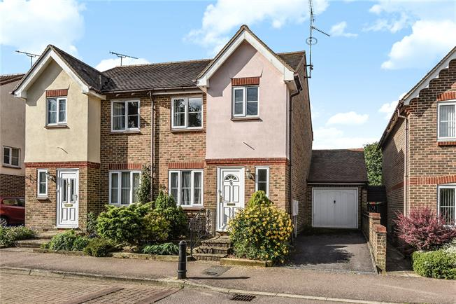 Guide Price £365,000, 2 Bedroom Semi Detached House For Sale in West Sussex, RH12