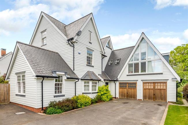 Guide Price £849,950, 4 Bedroom Detached House For Sale in Broadbridge Heath, RH12
