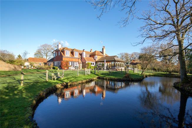 Offers in excess of £1,150,000, 5 Bedroom Detached House For Sale in Wineham, BN5