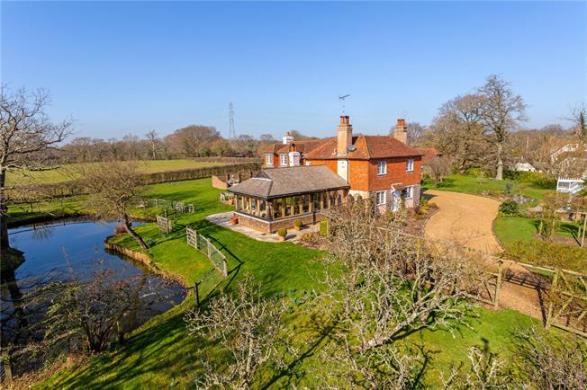 Offers in excess of £1,225,000, 5 Bedroom Detached House For Sale in Henfield, West Sussex, BN5