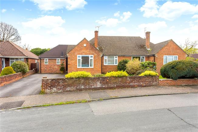 Guide Price £460,000, 2 Bedroom Bungalow For Sale in Horsham, RH12
