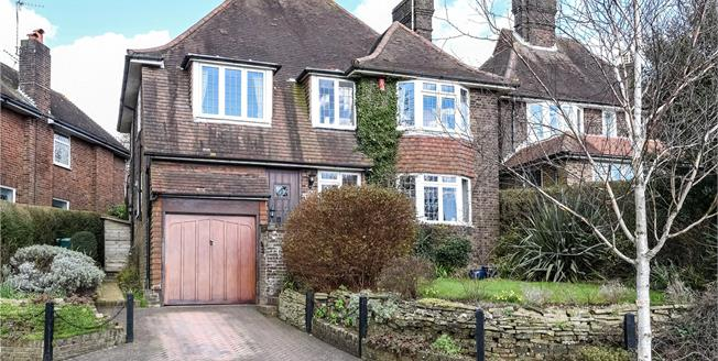 Asking Price £925,000, 4 Bedroom Detached House For Sale in Hove, BN3