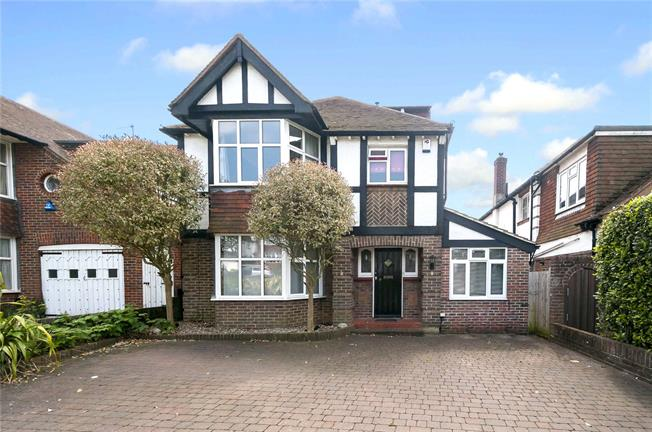Offers in excess of £875,000, 4 Bedroom Detached House For Sale in Hove, BN3