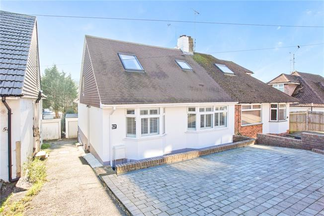 Guide Price £450,000, 4 Bedroom Semi Detached House For Sale in East Sussex, BN1