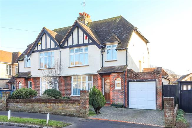 Asking Price £620,000, 3 Bedroom Semi Detached House For Sale in Brighton, West Sussex, BN42