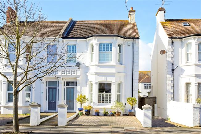 Asking Price £975,000, 5 Bedroom Semi Detached House For Sale in East Sussex, BN3