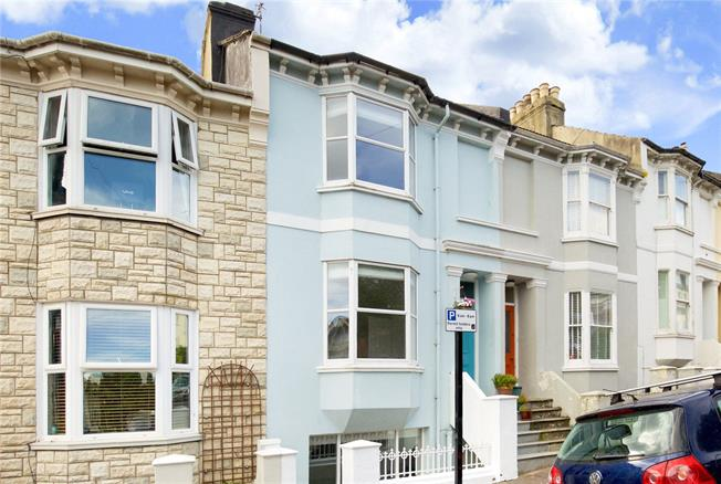 Offers in excess of £575,000, 4 Bedroom Terraced House For Sale in Brighton, BN2