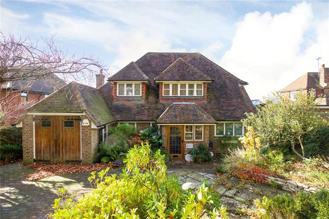 Asking Price £1,150,000, 4 Bedroom Detached House For Sale in Hove, BN3
