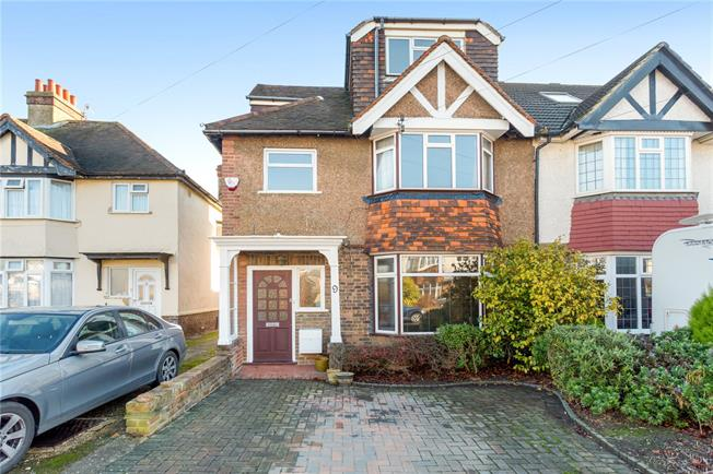 Asking Price £650,000, 4 Bedroom Semi Detached House For Sale in East Sussex, BN3