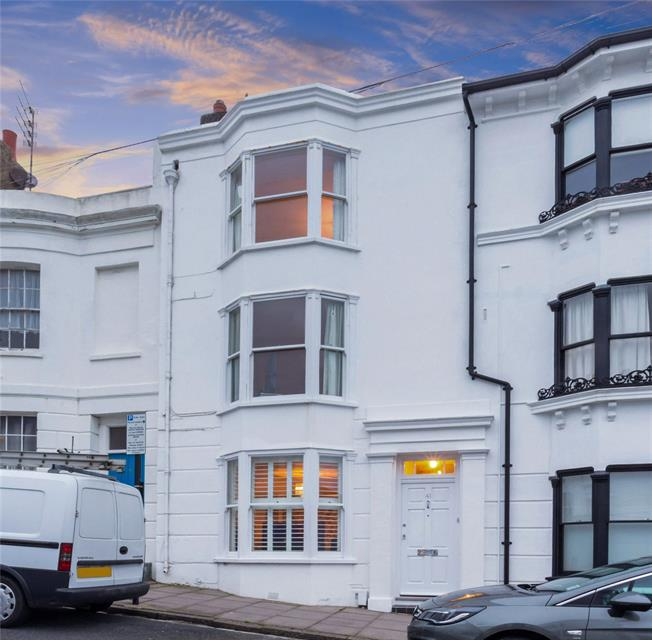 Offers in excess of £900,000, 4 Bedroom Terraced House For Sale in Brighton, BN1