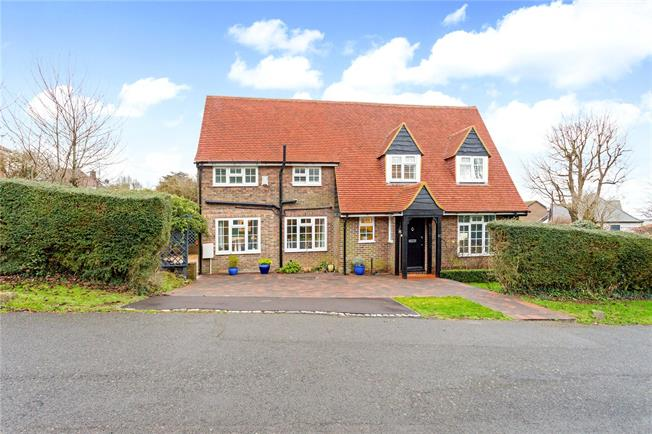 Asking Price £1,395,000, 4 Bedroom Detached House For Sale in Hove, BN3