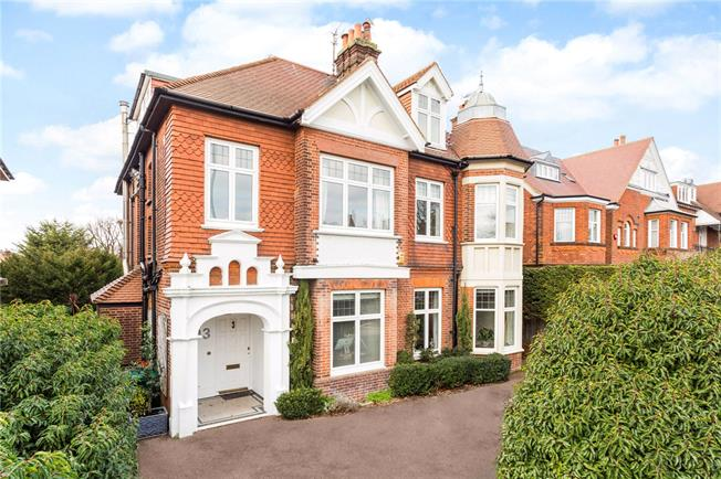 Price on Application, 7 Bedroom Detached House For Sale in Hove, BN3