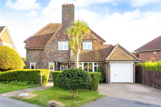 Asking Price £950,000, 4 Bedroom Detached House For Sale in East Sussex, BN3
