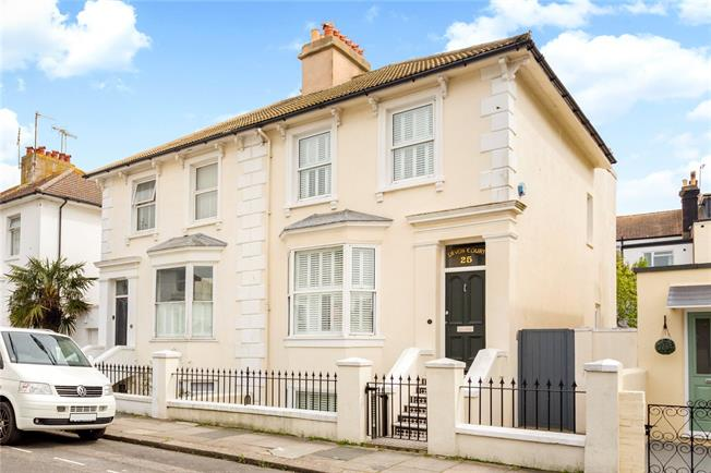 Asking Price £825,000, 4 Bedroom Semi Detached House For Sale in Hove, BN3