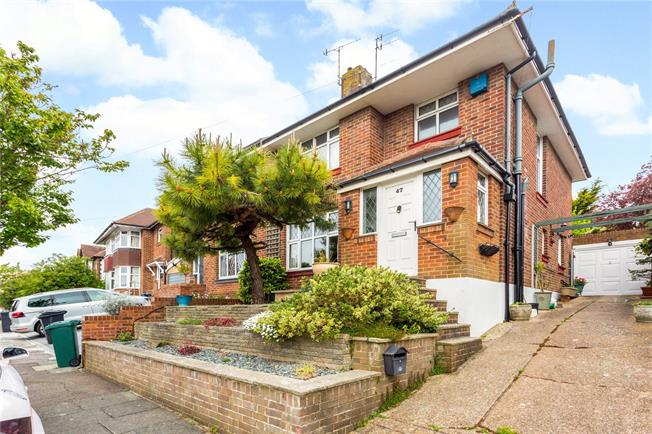 Asking Price £550,000, 3 Bedroom Semi Detached House For Sale in East Sussex, BN3