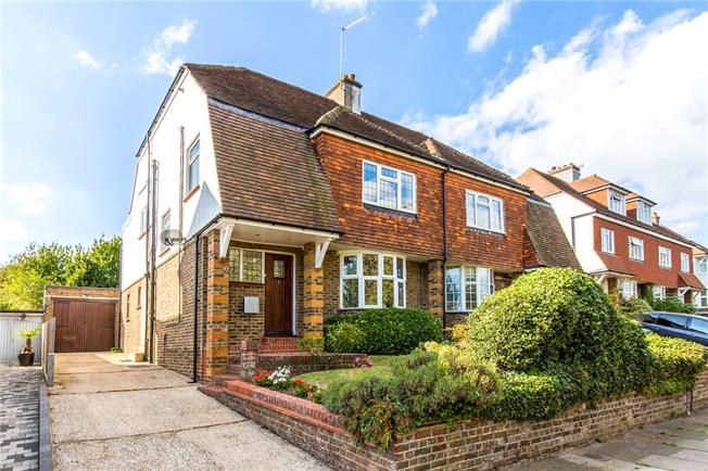 Asking Price £875,000, 5 Bedroom Semi Detached House For Sale in Hove, BN3