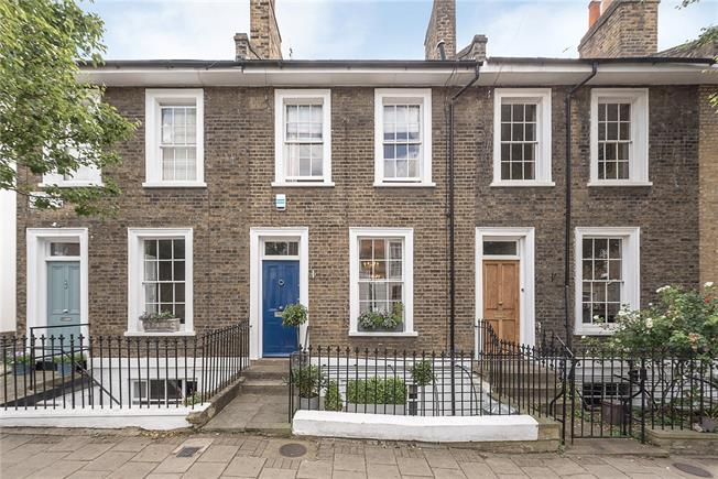 Asking Price £1,850,000, 2 Bedroom Terraced House For Sale in London, N1