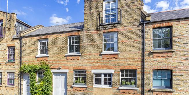 Asking Price £1,395,000, 3 Bedroom Mews House For Sale in London, N5