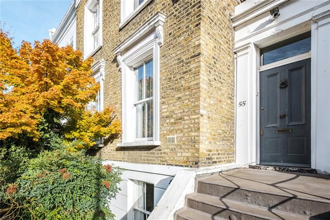 Guide Price £1,750,000, 4 Bedroom Terraced House For Sale in London, N1