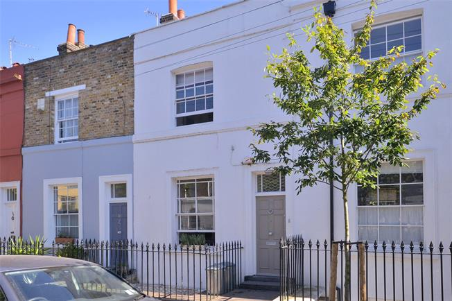 Asking Price £1,600,000, 3 Bedroom Terraced House For Sale in London, N1