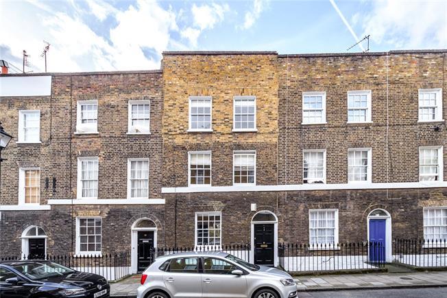 Guide Price £1,500,000, 3 Bedroom Terraced House For Sale in London, EC1V