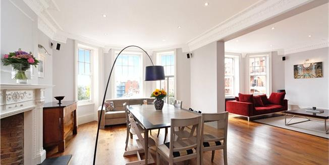 Asking Price £3,800,000, 4 Bedroom Flat For Sale in London, W8